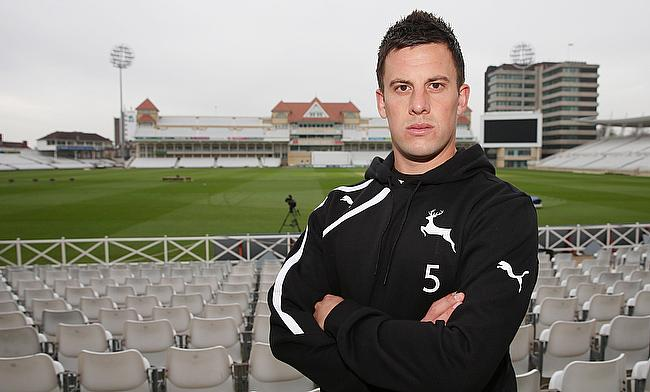 Steven Mullaney joined Nottinghamshire in 2010 and will replace Chris Read as the captain