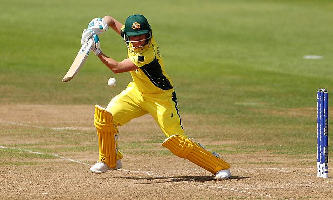 Beth Mooney registered her maiden T20I fifty