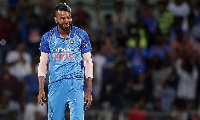 Hardik Pandya picked two wickets