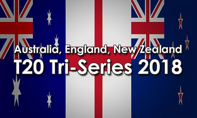England, Australia, New Zealand T20I Tri-Series 2018