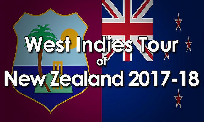 West Indies tour of New Zealand 2017-18