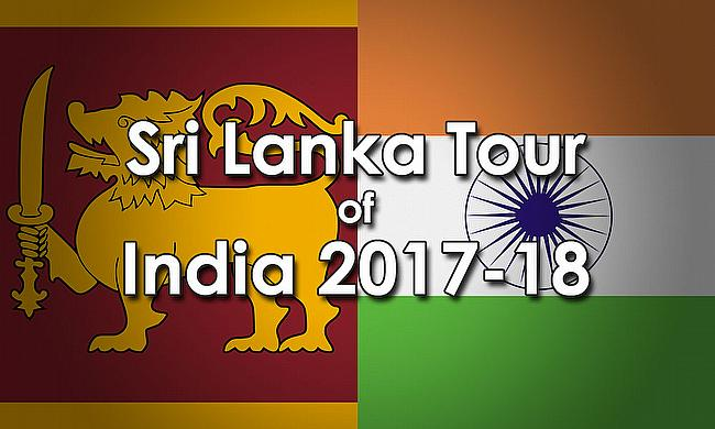 Sri Lanka tour of India 2017-18
