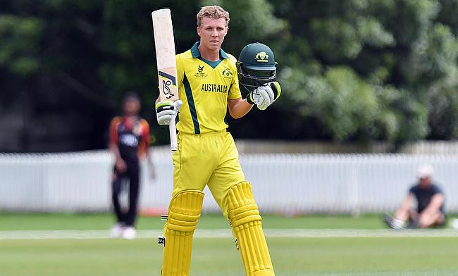 Nathan McSweeney is looking forward to the final against India