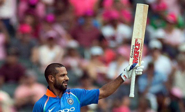 Shikhar Dhawan looked fluent in his 39-ball knock