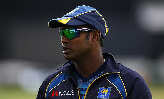 Angelo Mathews will miss another series for Sri Lanka