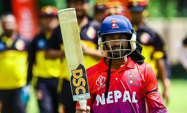 Dipendra Singh Airee was the hero for Nepal against PNG