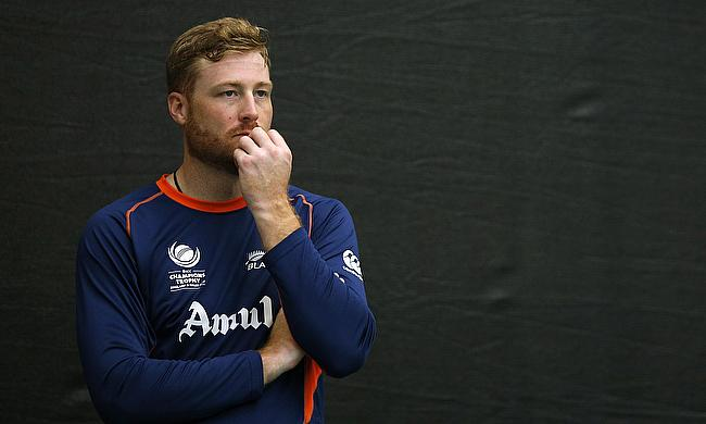Martin Guptill in Training with New Zealand