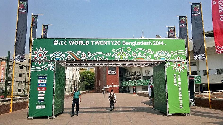 Preparations almost over here in Mirpur, the real tournament starts tomorrow!