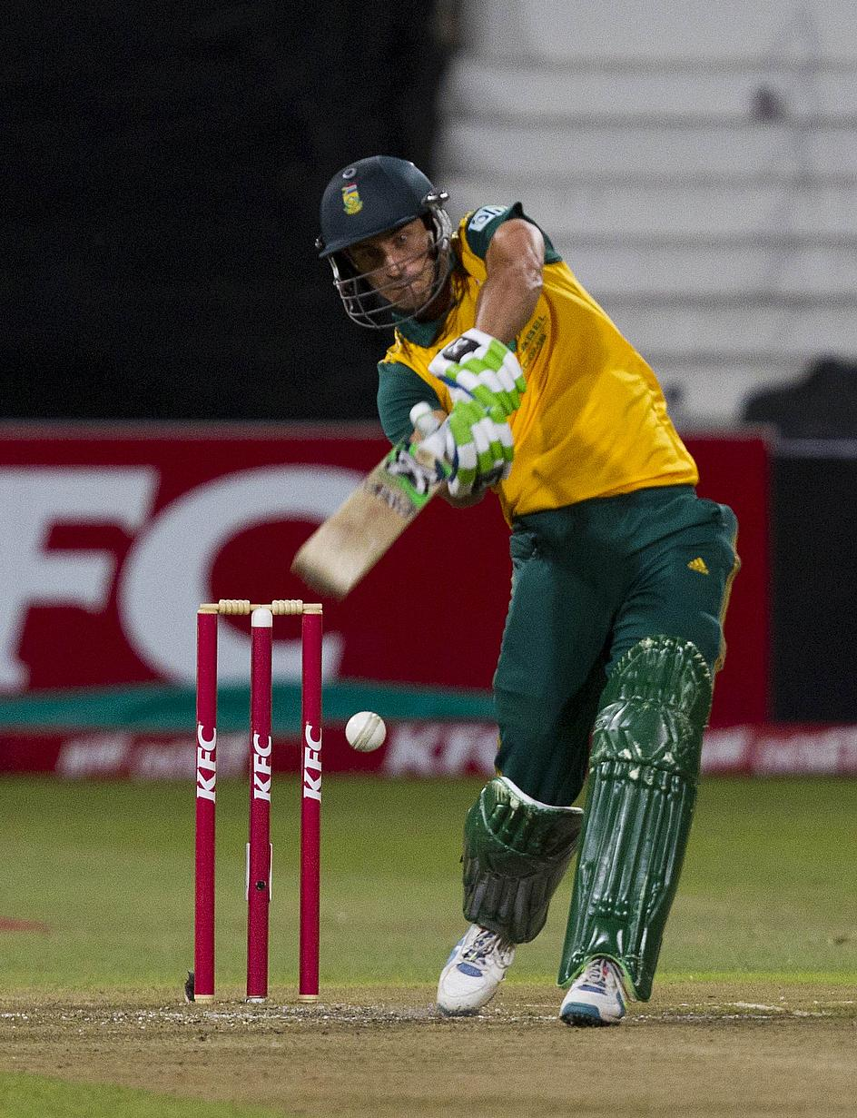 Faf du Plessis was one of two captains banned following over-rate offences