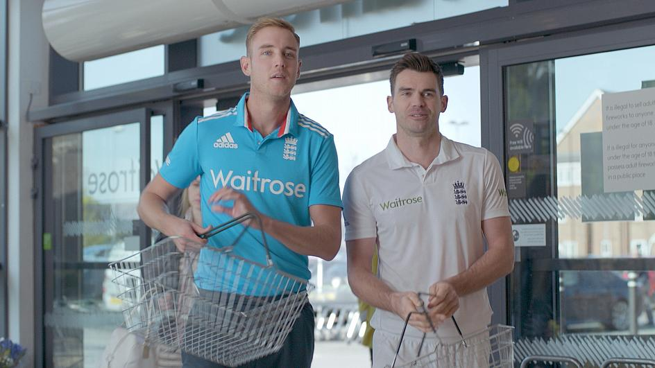 Anderson and Broad enter the Waitrose store