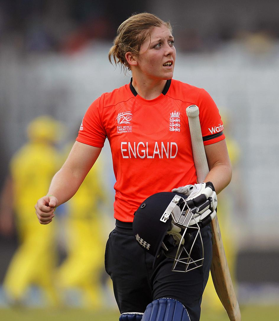 Heather Knight has been named as England's new vice-captain