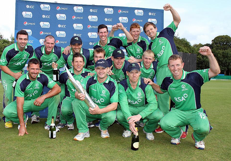 Ireland Champions After Rare Washout