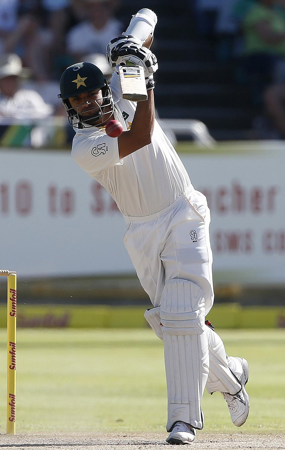 Azhar Ali scored a scintillating 226 as Pakistan dominated day two of the Mirpur Test against Bangladesh.