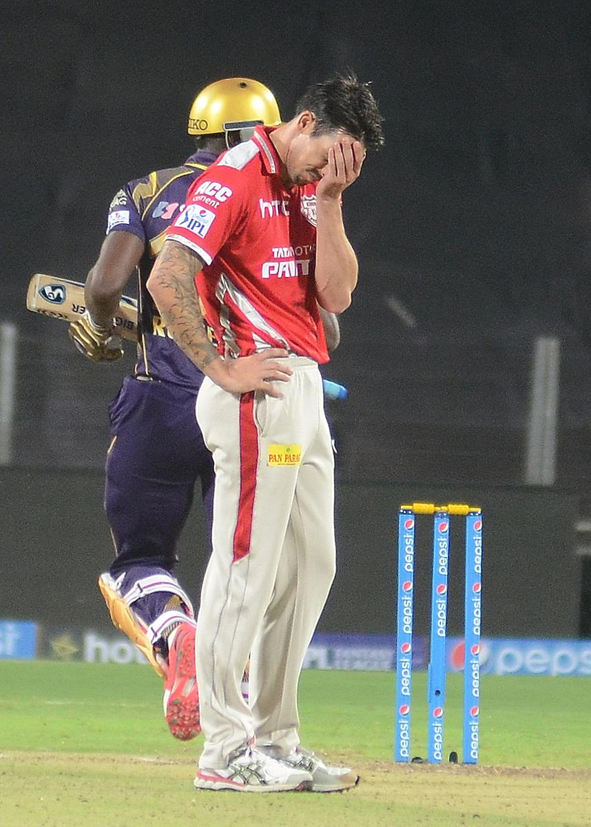 Kings XI Punjab Release Mitchell Johnson, Shaun Marsh