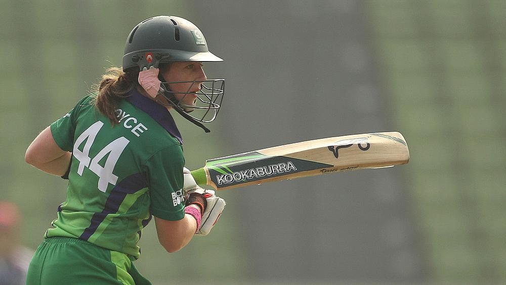 Cecelia Joyce helped Ireland beat Netherlands by eight wickets
