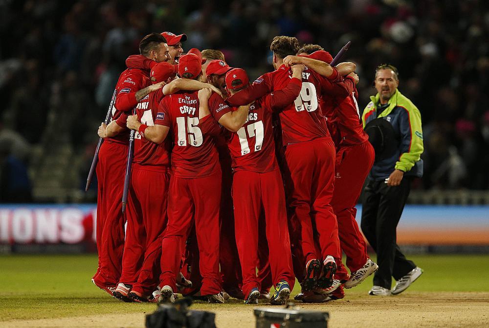 Lancashire won the NatWest T20 Blast in 2015
