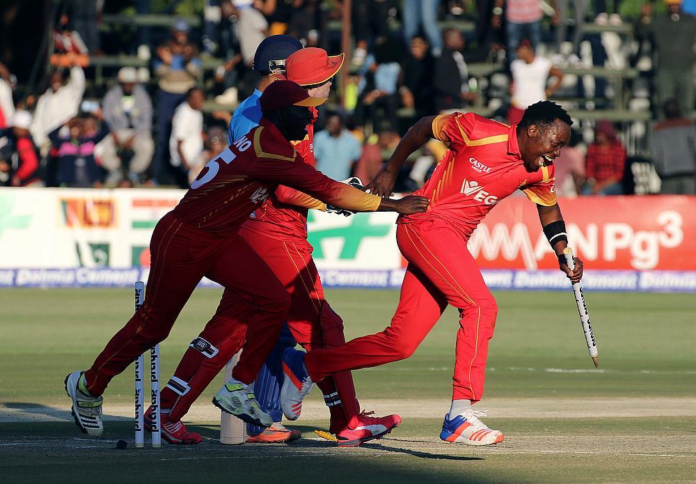 Image result for zimbabwe cricket vs netherlands results