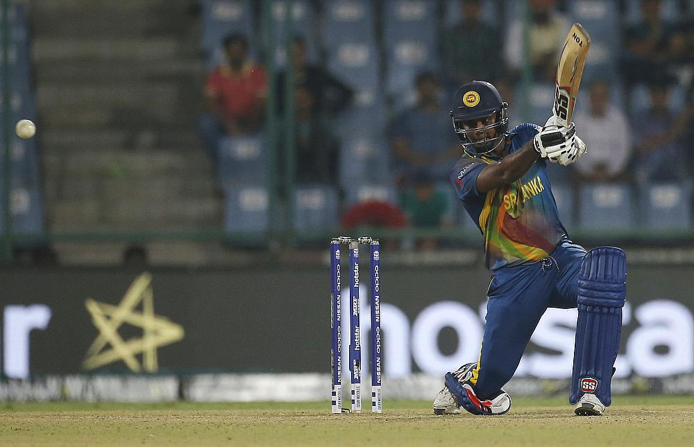 Angelo Mathews to miss Sri Lanka's Champions Trophy opener against South Africa