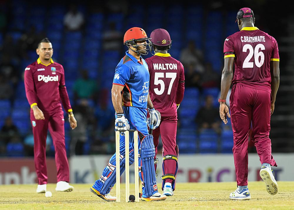 Afghanistan to bat against Windies in T20