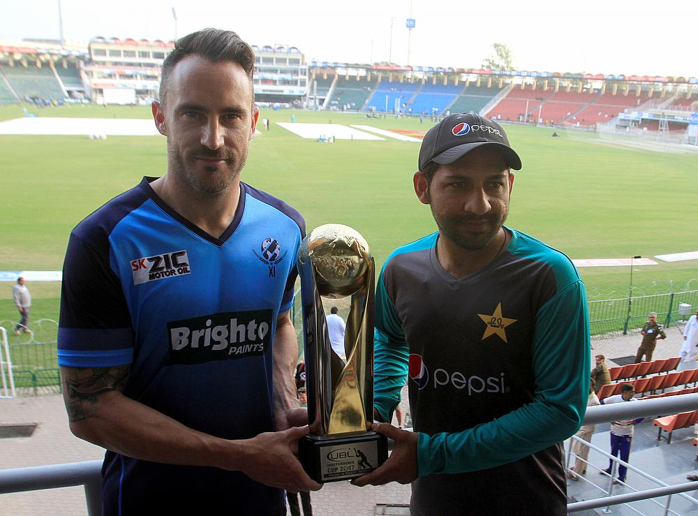 World XI beat Pakistan in 2nd T20I