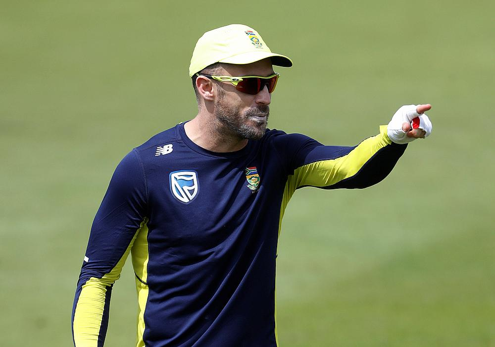 Injured du Plessis to be out of action for 6 weeks
