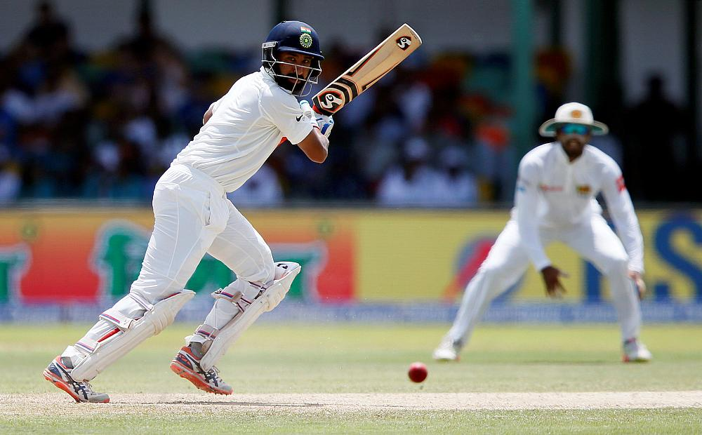 Gutsy Pujara defies rampaging Sri Lanka in Kolkata Test