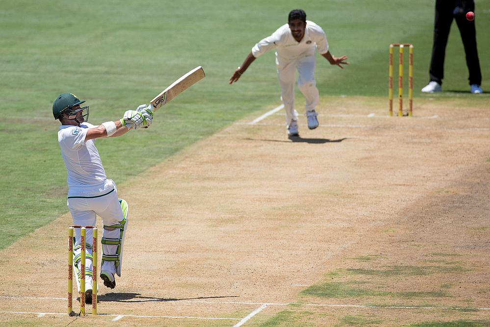 IND 4/0 at lunch; SA bowled out for 335