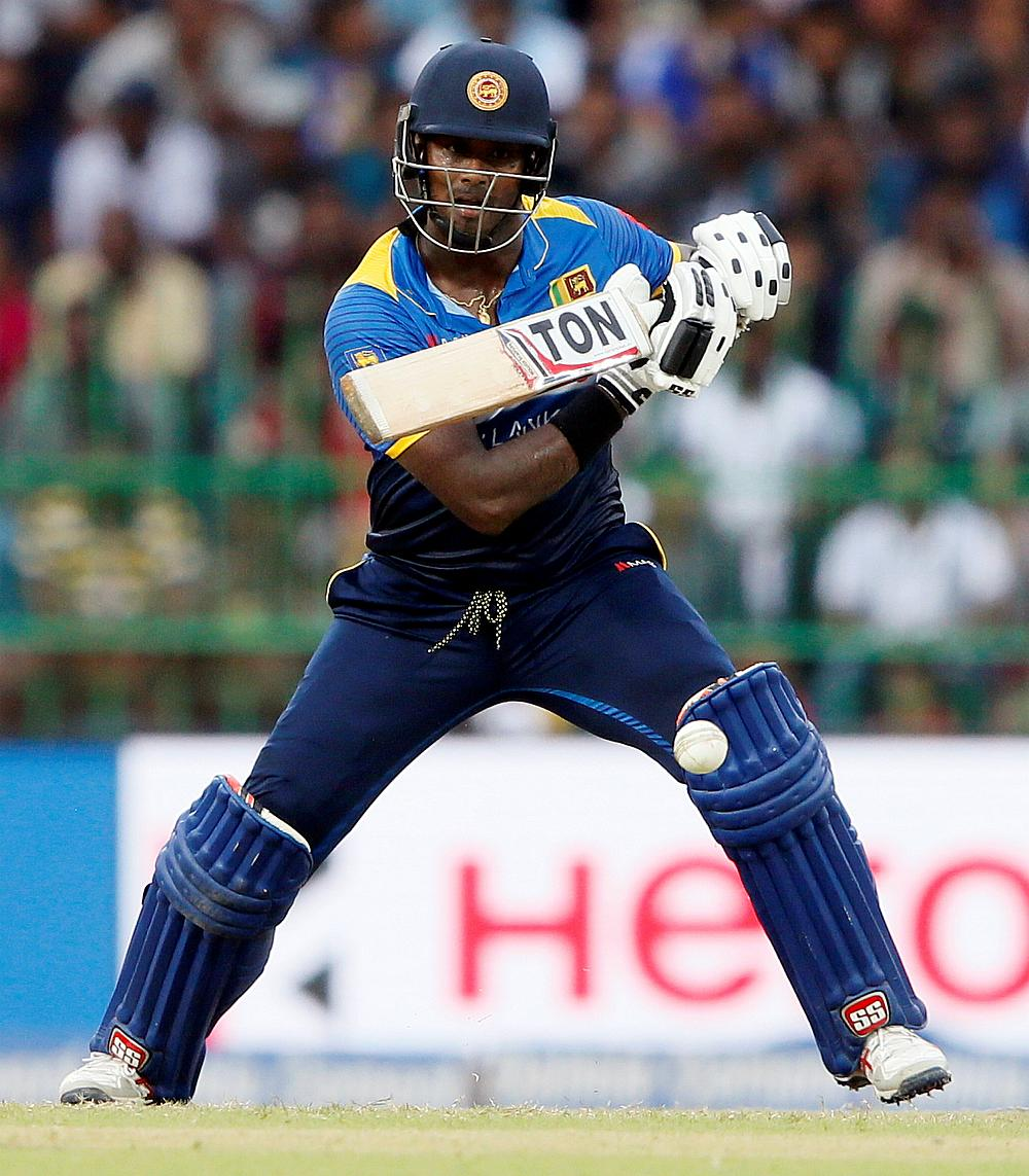 Mathews to miss Bangladesh T20s