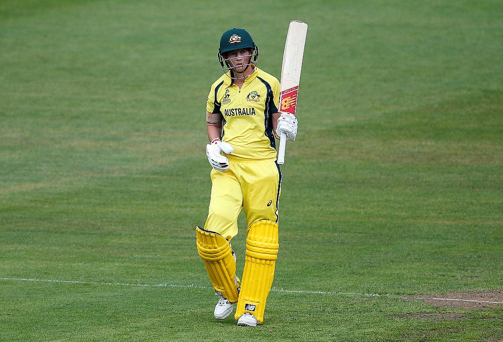Australia women set record total to claim T20 tri-series