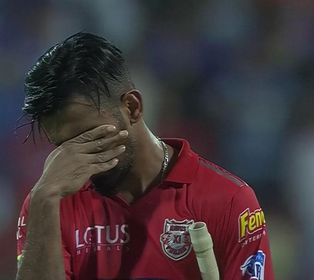 MI beat KXIP by 3 runs in thriller