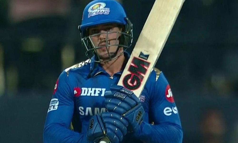 Quinton de Kock demolition not enough for Mumbai Indians