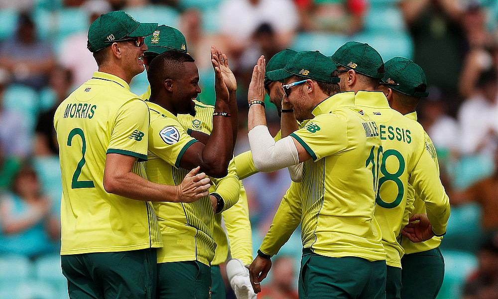 Relief for South Africa after 1st win at Cricket World Cup