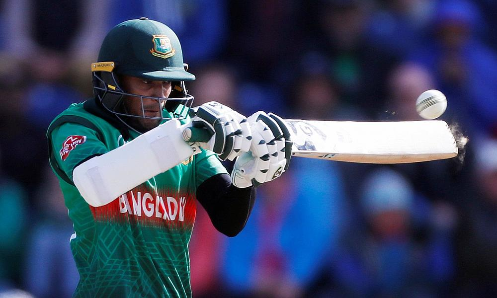 Sensational Shakib powers Bangladesh past West Indies