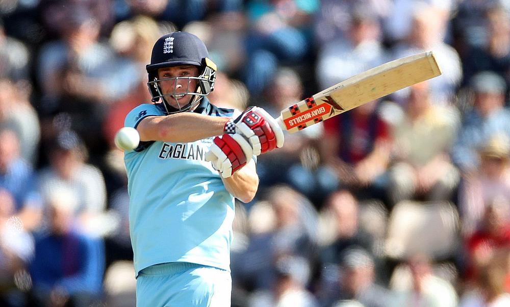 England on top after captain Morgan leads rout of Afghanistan