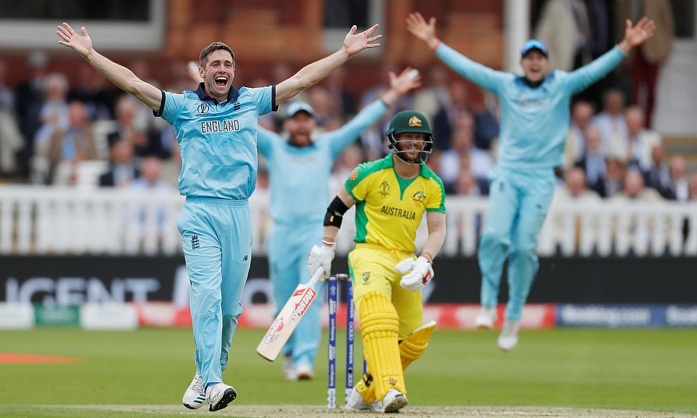 England trounce Australia to reach Cricket World Cup final