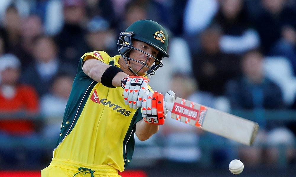 Australia PM Morrison turns drinks boy in tour match