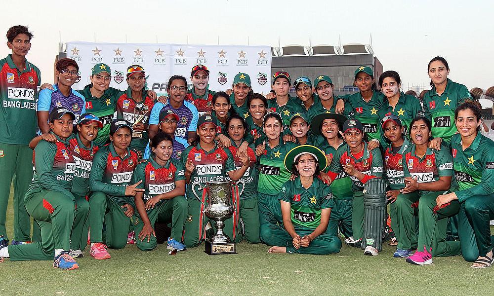 Bangladesh beat Pakistan to draw women's ODI series