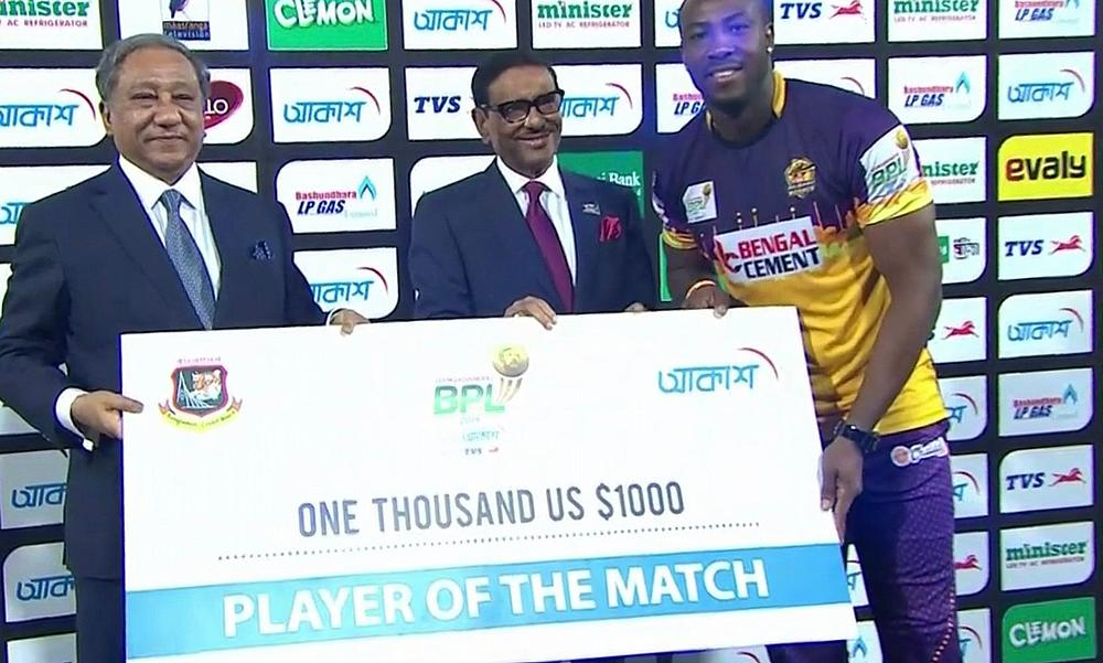Andre Russell, Muhammad Nawaz inspire Rajshahi Royals to BPL title