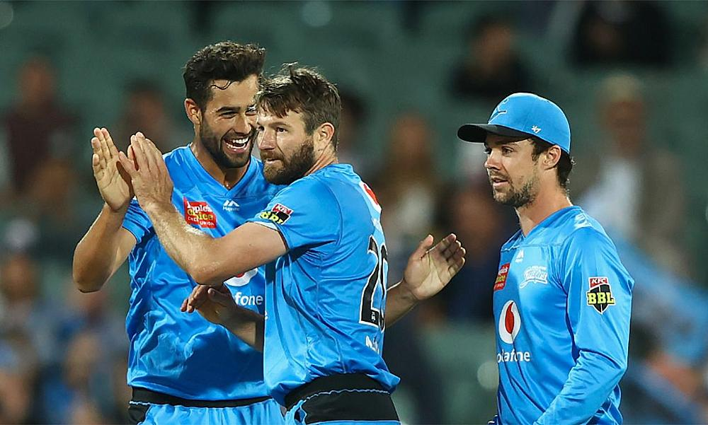 Adelaide Strikers defeat Melbourne Stars in BBL