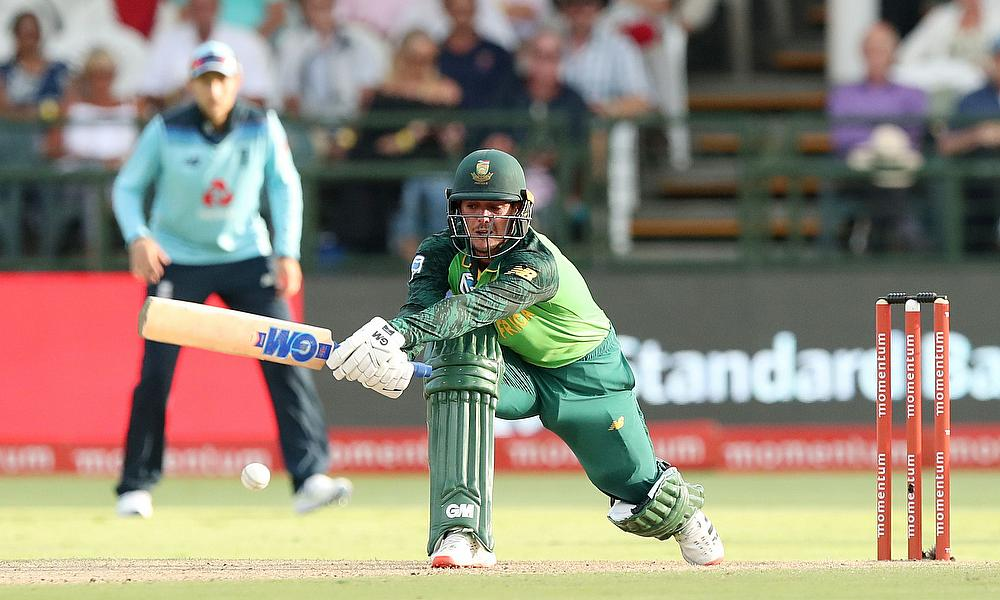 England survive late scare to beat Proteas and share ODI series