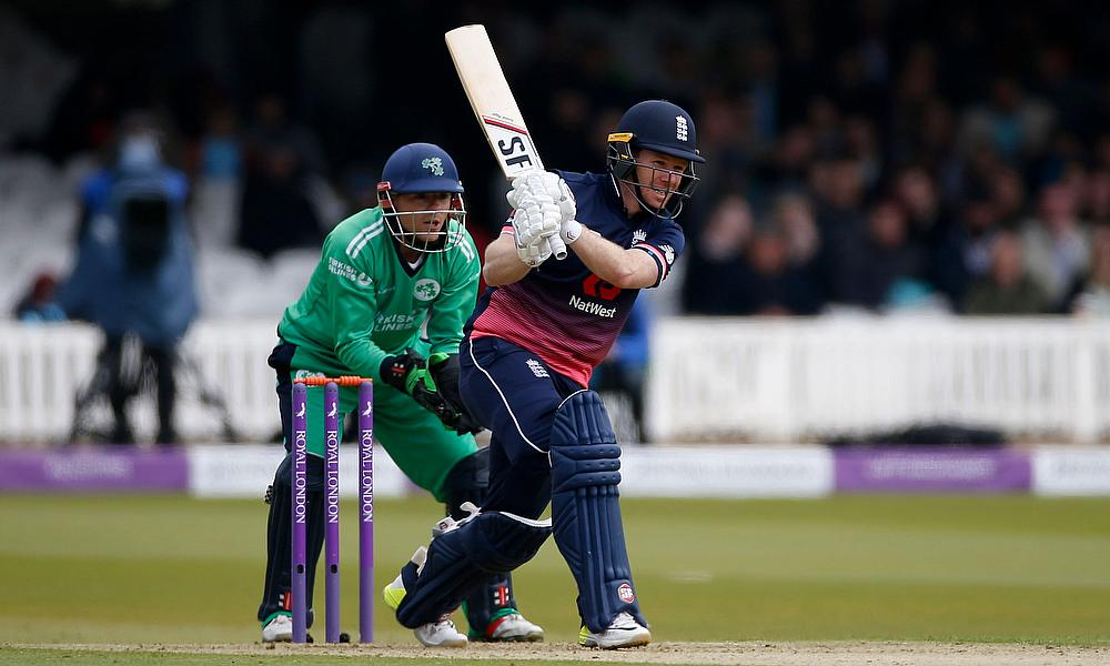 England beat Ireland by 6 wickets in low scoring 1st ODI