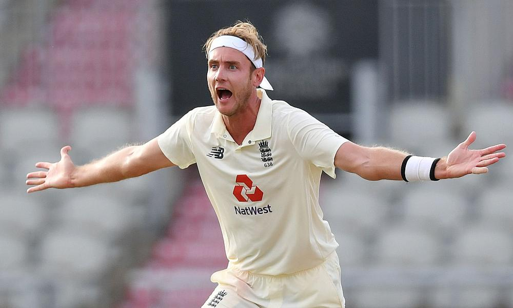 Broad fined for using inappropriate language
