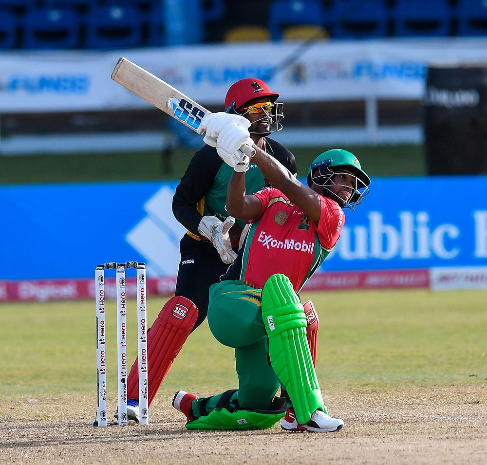 CPL 2020: Poorans first hundred of the CPL pummels the Patriots