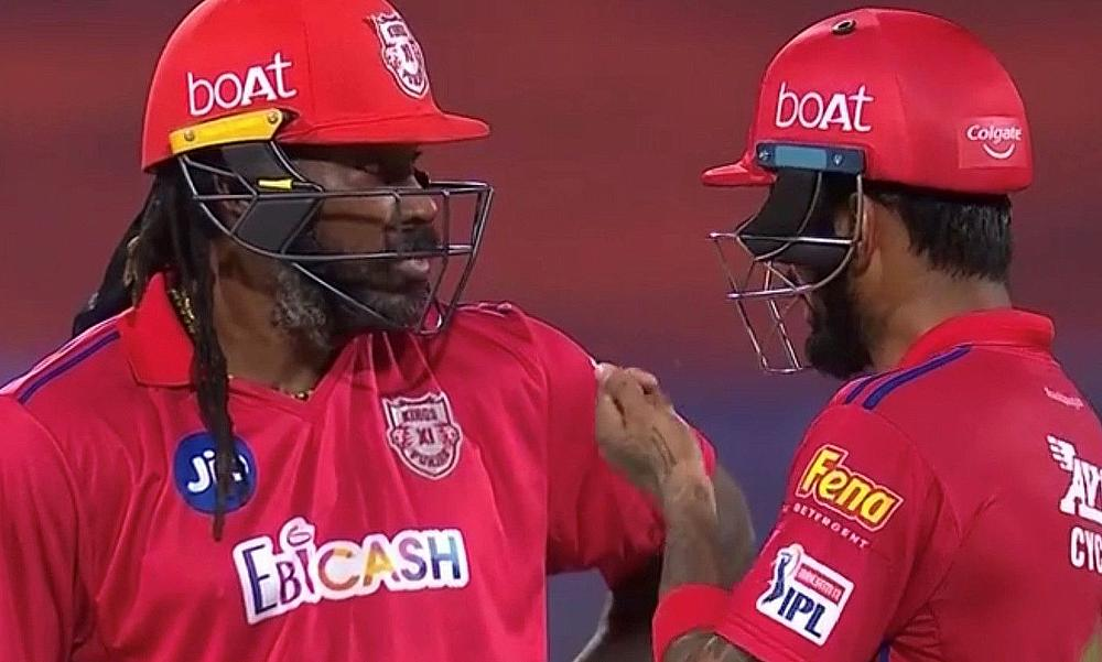 Chris Gayle and Lokesh Rahul shared a match-winning stand
