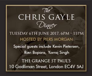 Chris Gayle Gala Dinner