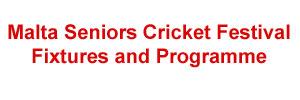Malta Seniors Cricket Festival