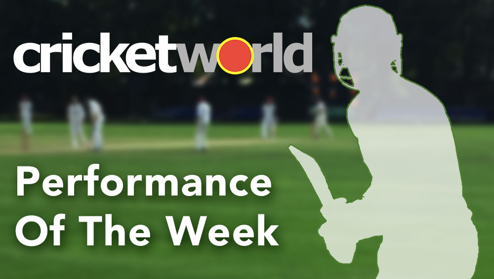 Nominate a Performance of the Week