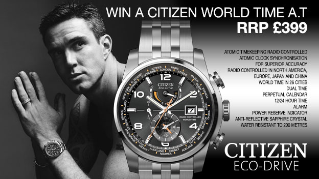 Win A Citizen Eco-Drive Watch