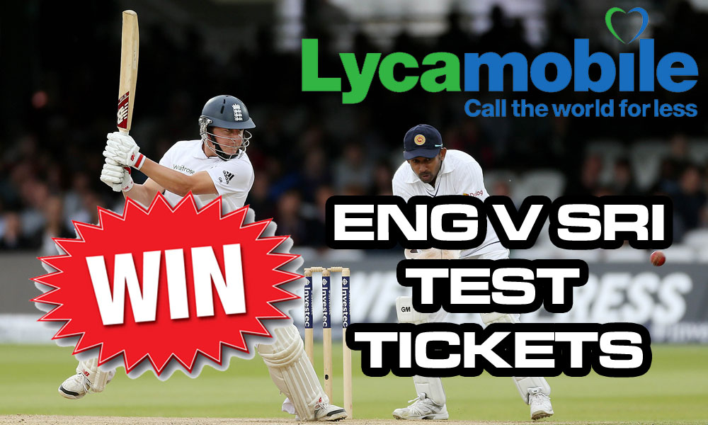Win England v Sri Lanka tickets