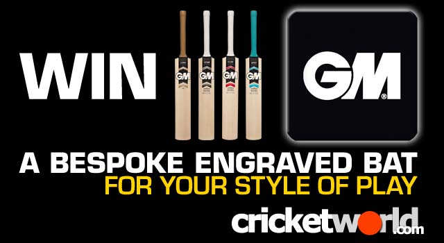 Win A Bespoke GM Cricket Bat